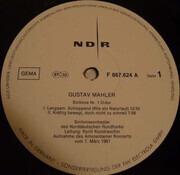 LP - Gustav Mahler - NDR Sinfonieorchester (Kondraschin) - Sinfonie Nr. 1 D-dur