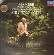 LP - Gustav Mahler - The Chicago Symphony Orchestra , Georg Solti - Symphony No. 1