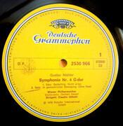 LP - Gustav Mahler - Wiener Philharmoniker , Frederica Von Stade , Claudio Abbado - Symphonie Nr. 4