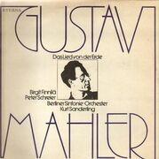 LP - Gustav Mahler , Birgit Finnilä , Peter Schreier , Berliner Sinfonie Orchester , Kurt Sanderling - Das Lied Von Der Erde