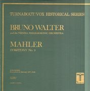 Double LP - Gustav Mahler , Bruno Walter , Wiener Philharmoniker - Symphony No. 9