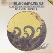 LP - Gustav Mahler , Concertgebouworkest , Leonard Bernstein - Symphonie No. 1 - incl Booklet
