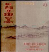 Double LP - Gustav Mahler - Paul Kletzki - Das Lied Von Der Erde - Hardcoverbox + Booklet