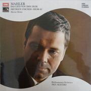 LP - Gustav Mahler , Dietrich Fischer-Dieskau , Murray Dickie , Philharmonia Orchestra , Paul Kletzki - Das Lied Von Der Erde