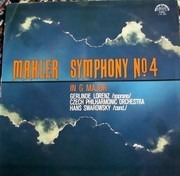 LP - Mahler / Lorenz, The Czech Philh. Orch., Swarowsky - Symphony No. 4 In G Major