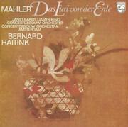 LP - Gustav Mahler , Janet Baker / James King , Concertgebouworkest , Bernard Haitink - Das Lied Von Der Erde