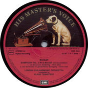 LP - Gustav Mahler , Klaus Tennstedt , Lucia Popp , The London Philharmonic Orchestra - Symphony No. 4