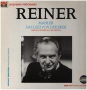 LP - Gustav Mahler , Maureen Forrester , Richard Lewis , The Chicago Symphony Orchestra , Fritz Reiner - Das Lied Von Der Erde