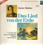 LP - Mahler - O. Klemperer - Das Lied Von Der Erde - Mono