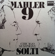 Double LP - Mahler - Symphony No. 9 - Hardcover Box + Booklet