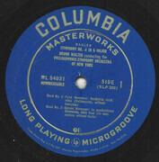 LP - Mahler (Walter) - Symphony No. 4 In G Major - Mono