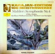 LP - Gustav Mahler : Edith Mathis · Berliner Philharmoniker · Herbert Von Karajan - Symphonie Nr. 4