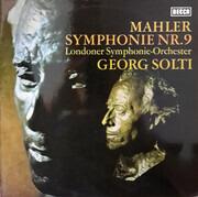 Double LP - Mahler (Solti) - Symphonie Nr. 9 D-Dur - Gatefold