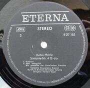 LP - Gustav Mahler - Sinfonie Nr. 4 G-Dur