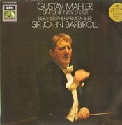 Double LP - Gustav Mahler - Symphony No.9 (Sir John Barbirolli) - Gatefold