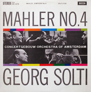 LP - Gustav Mahler , Concertgebouworkest , Georg Solti - Symphony No. 4 In G Major - mono ausgabe