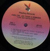 LP - Hamilton, Joe Frank & Dennison - Love And Conversation - embossed cover