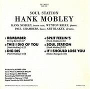 CD - Hank Mobley - Soul Station