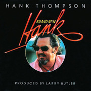 LP - Hank Thompson - Brand New Hank - Signed