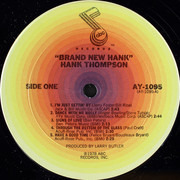 LP - Hank Thompson - Brand New Hank