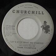 7inch Vinyl Single - Hank Thompson - Once In A Blue Moon