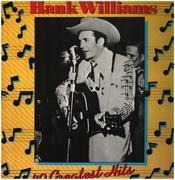 Double LP - Hank Williams - Hank Williams - 40 Greatest Hits