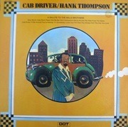 LP - Hank Thompson - Cab Driver - A Salute To The Mills Brothers