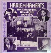 LP - Harlem Hamfats - Hot Chicago Jazz, Blues & Jive 1936-1937
