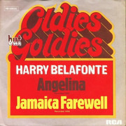 7inch Vinyl Single - Harry Belafonte - Angelina / Jamaica Farwell