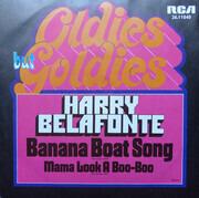 7inch Vinyl Single - Harry Belafonte - Banana Boat Song - Black labels