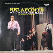 Double LP - Harry Belafonte - Belafonte At Carnegie Hall: The Complete Concert - STEREO
