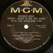 7inch Vinyl Single - Harry James And His Big Band Plus The Dixieland Five - Double Dixie