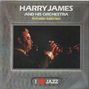 LP - Harry James And His Orchestra Featuring Buddy Rich - I Love Jazz