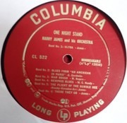 LP - Harry James And His Orchestra - One Night Stand