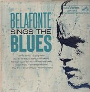 LP - Harry Belafonte - Belafonte Sings The Blues
