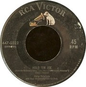 7'' - Harry Belafonte - Hold 'Em Joe / I'm Just A Country Boy