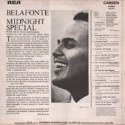 LP - Harry Belafonte - Midnight Special