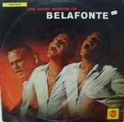 LP - Harry Belafonte - The Many Moods Of Belafonte