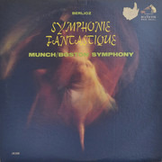LP - Hector Berlioz , Charles Munch / Boston Symphony Orchestra - Symphonie Fantastique
