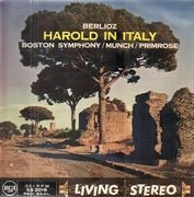 LP - Hector Berlioz , William Primrose , Boston Symphony Orchestra , Charles Munch - Harold In Italy