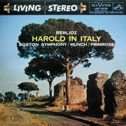 LP - Hector Berlioz, Boston Symphony Orchestra, Charles Munch, William Primrose - Harold In Italy