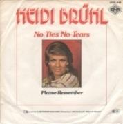 7'' - Heidi Brühl - No Ties No Tears