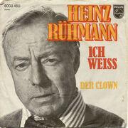 7'' - Heinz Rühmann - Ich Weiß / Der Clown