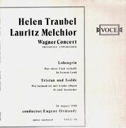 LP - Helen Traubel, Lauritz Melchior - Wagner Concert