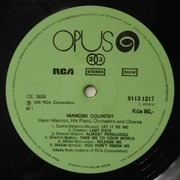 LP - Henry Mancini And His Orchestra And Chorus - Mancini Country