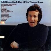 LP - Herb Alpert & The Tijuana Brass - Solid Brass