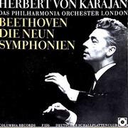 LP-Box - Beethoven (Karajan) - Die Neun Symphonien - Hardcoverbox + booklet