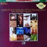 LP - Herbert von Karajan , Pyotr Ilyich Tchaikovsky , Berliner Philharmoniker - Sinfonie Nr.5 E-Moll Op.64 - quadrophonic, lim. ed.