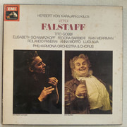 LP-Box - Verdi (Karajan) - Falstaff - textured Hardcoverbox + booklet