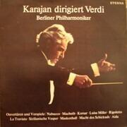 LP - Herbert von Karajan Dirigent Giuseppe Verdi - Berliner Philharmoniker - Karajan Dirigent Verdi (Ouvertüren Und Vorspiele)